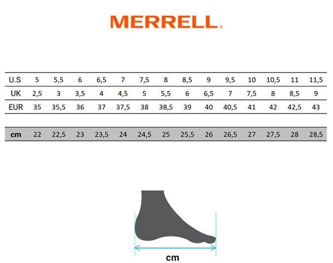 guia-tallas-merrell-calzado-mujer