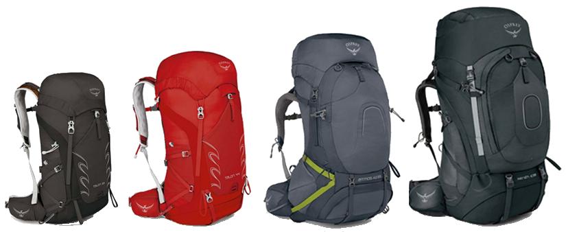 mochilas-trekking-tamanos-capacidad