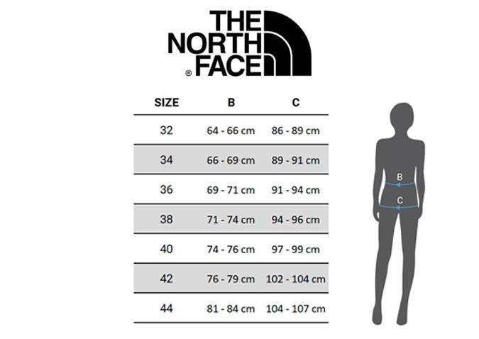 tallas-the-north-face-ropa-mujer-pantalones